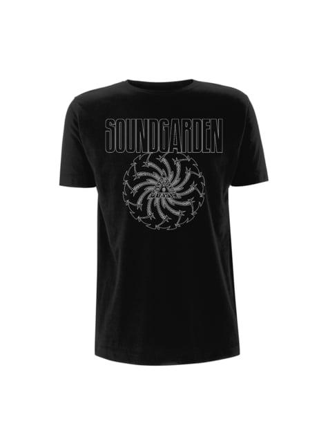 T-shirt Soundgarden Badmotorfinger para homem