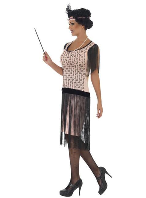 Disfraz de charlestón años 20 para mujer - original