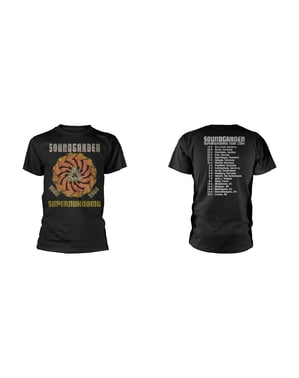 Camiseta Soundgarden Superunknown Tour 94 para hombre