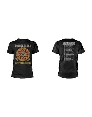 Soundgarden Superunknown Tour 94 -T-paita Miehille