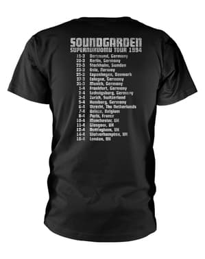 Soundgarden Superunknown Tour 94 T-Skjorte til Menn