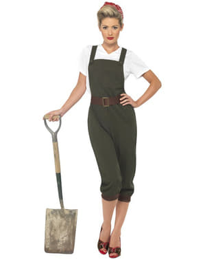 Andre Verdenskrig Arbeider-Kostyme til Voksne