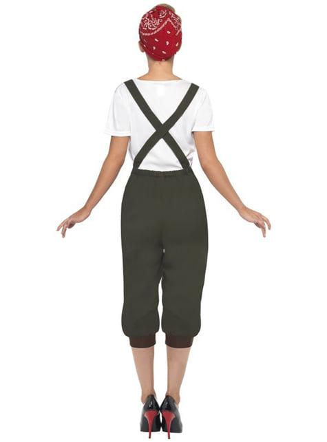 Second World War Worker Adult Costume