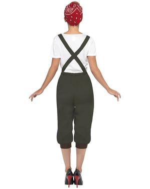 Arbeiterin Kostüm Zweiter Weltkrieg