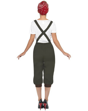 Second World War Worker Adult Costume