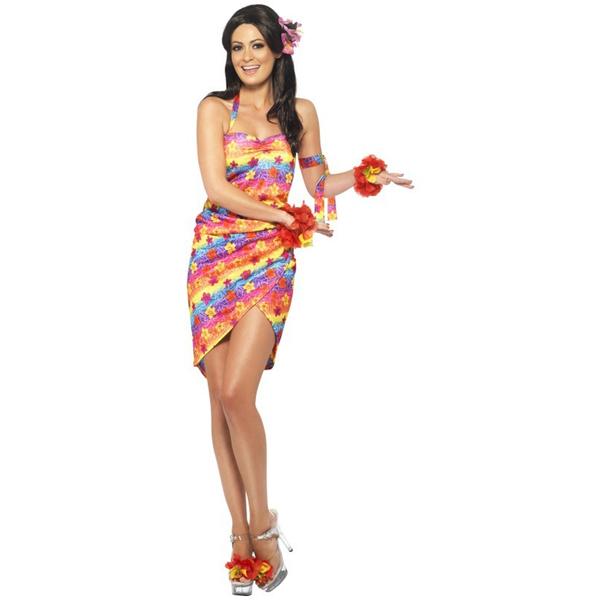 Oferta: Disfraz de hawaiana Deluxe para mujer