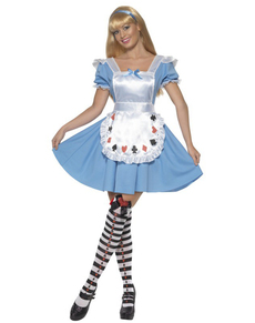Poker Dame Kostüm