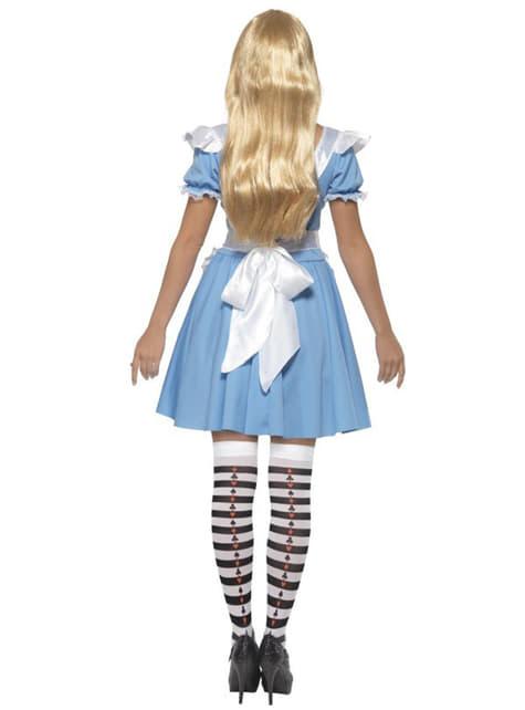 Dámsky kostým Alica v krajine zázrakov