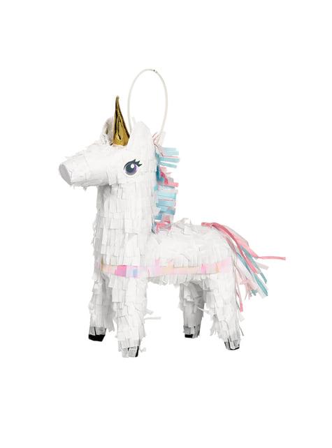 Mini piñata de princesa unicornio