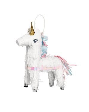 Mini pignatta a forma di principessa unicorno