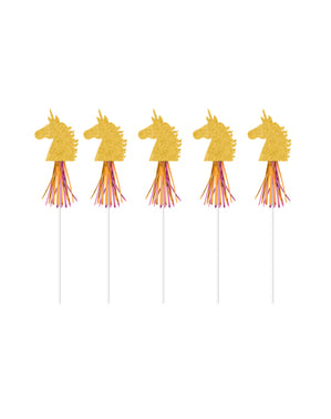 6 Unicorn Wands - Pretty Unicorn