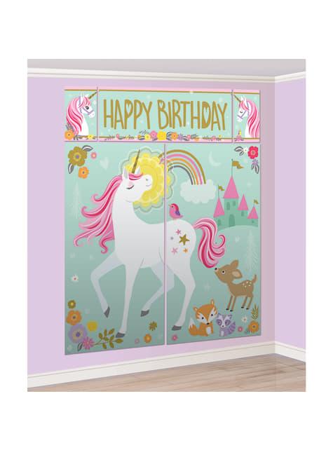 Kit photobooth licorme - Pretty Unicorn
