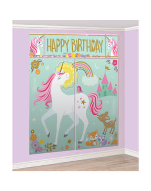 Enhörning Photo Booth Set - Pretty Unicorn