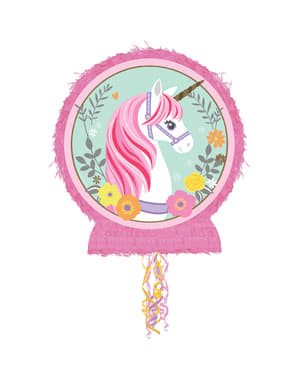 Einhorn Prinzessin Piniata Topfschlagespiel