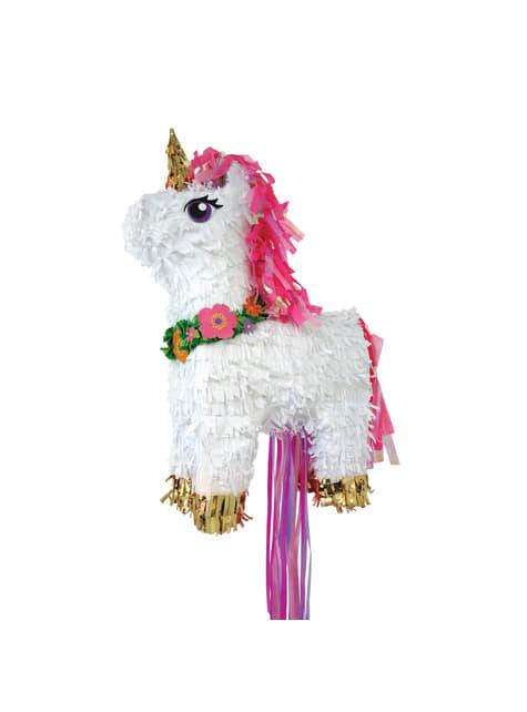 Piñata premium de unicornio