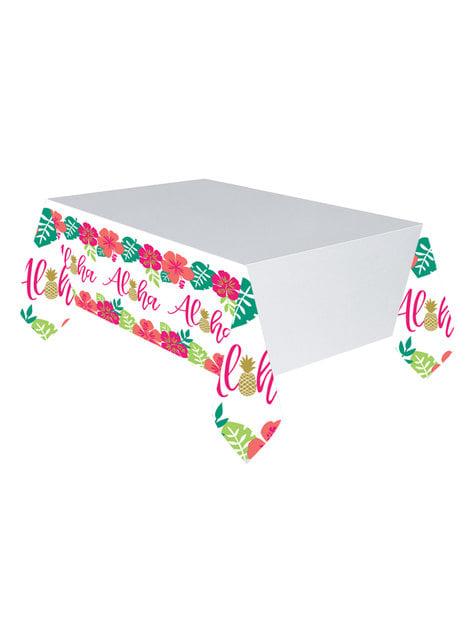 Aloha tablecloth