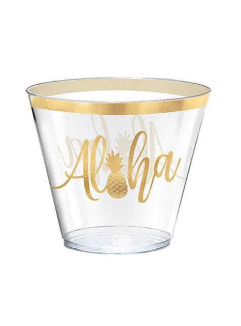 30 copos grandes aloha - Aloha