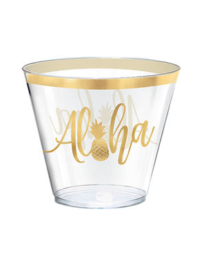30 хавайски чаши– Aloha