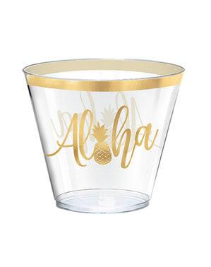 30 bicchieri grandi aloe - Aloha