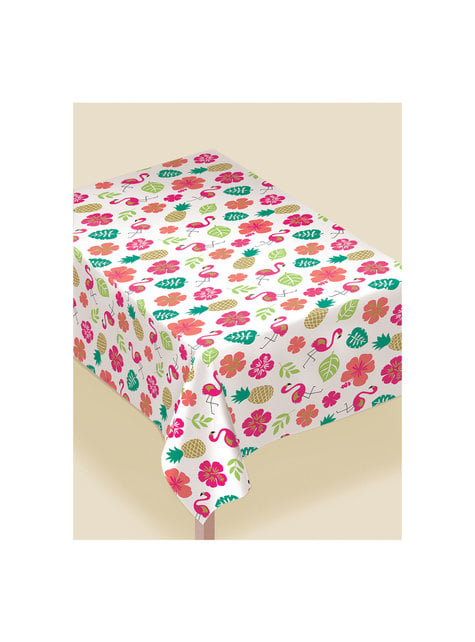 Printed Aloha tablecloth