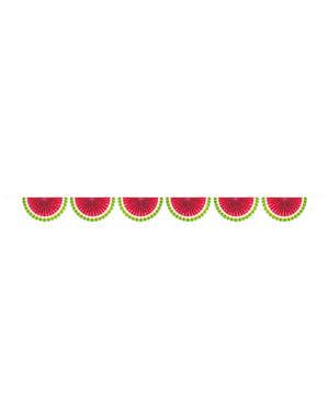 Grinalda de melancias