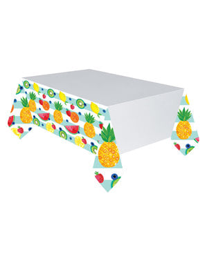 Toalha de mesa de tutti fruti