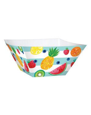 3-teiliges Tutti Frutti Pappschalen Set
