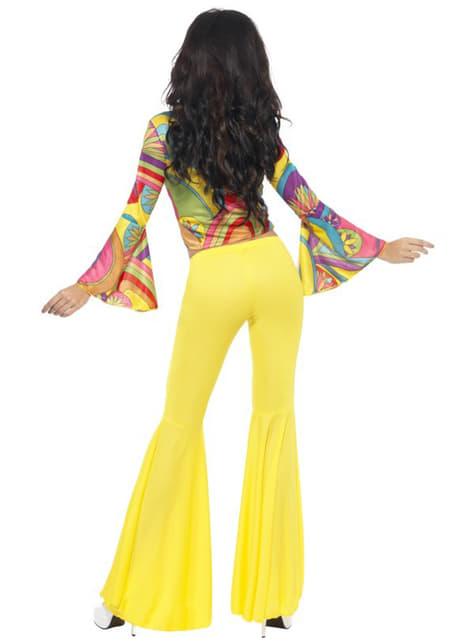 Disfraz de hippie amigable para mujer - mujer