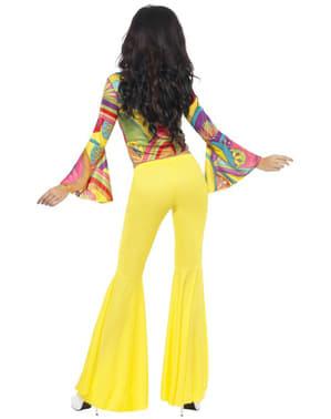 Sexy hippie vrouw Kostuum