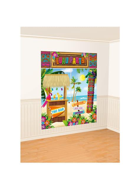Kit de decoração parede Tiki Havai