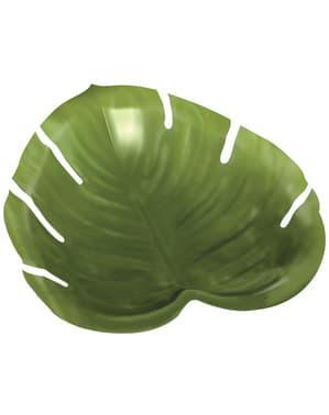 Пальмовий лист листя лоток