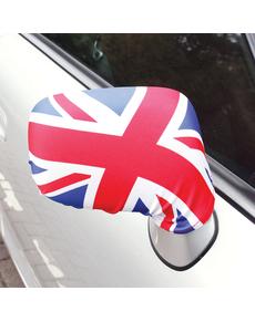 best service 86b25 a0f5d Set 2 backspegelsfodral med Engelska Flaggan lilla ...