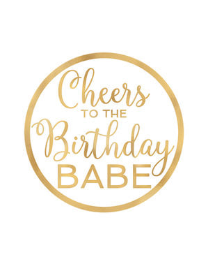 18 happy birthday onderzetters