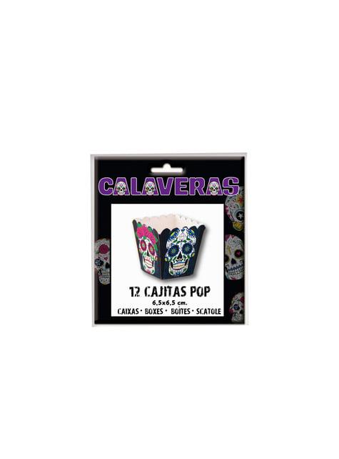 12 boîtes pop Catrina jour des morts petit modèle