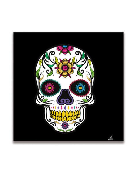 20 servilletas Catrina Día de los muertos (33x33 cm) - para tus fiestas