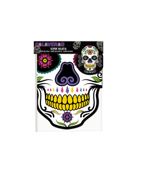 Catrina cardboard decorative figure
