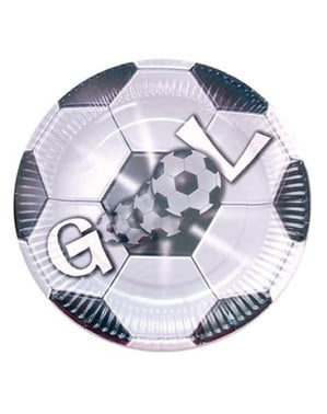 8 grote GOAL borden (23 cm)