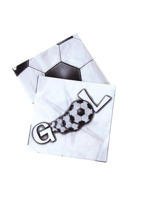 20 servilletas GOOL (33x33 cm)