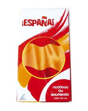 Bandiera della Spagna di plastica
