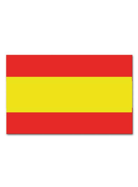 Bandera de España de plástico - para tus fiestas