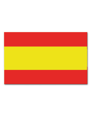 Spanish plastic flag