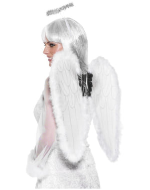 Sada andělských doplňků bílá
