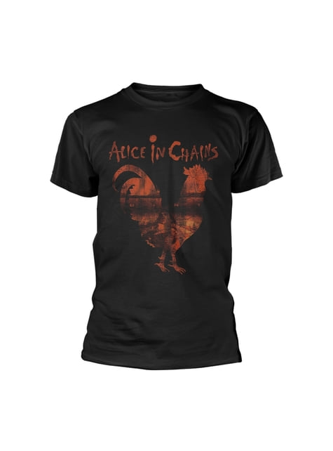 T-shirt Alice in Chains Rooster para homem