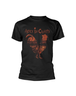 Alice in Erkekler için Zincirler Horoz Tişört