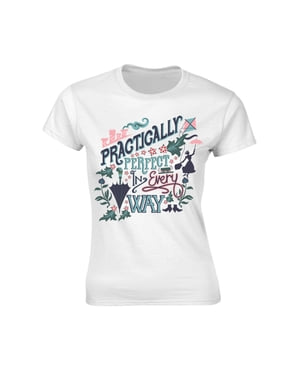 T-shirt Mary Poppins Practically para mulher
