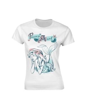 女性のためのアリエルのポーズのTシャツ - リトルマーメイド