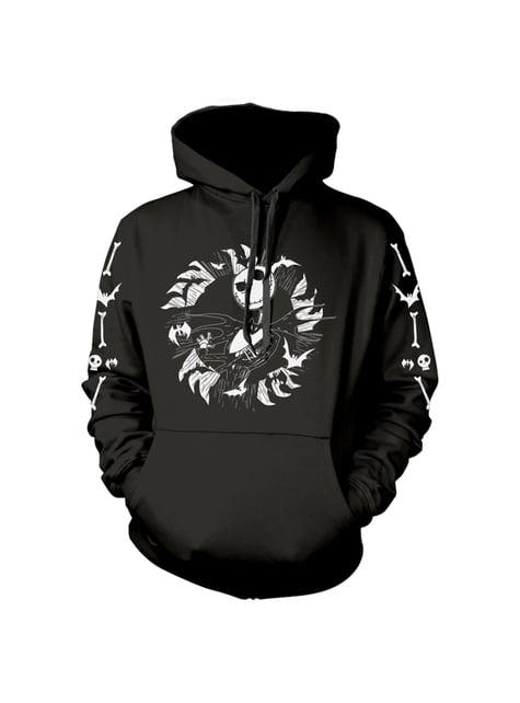 Sweatshirt Jack O Estranho Mundo de Jack preta para homem