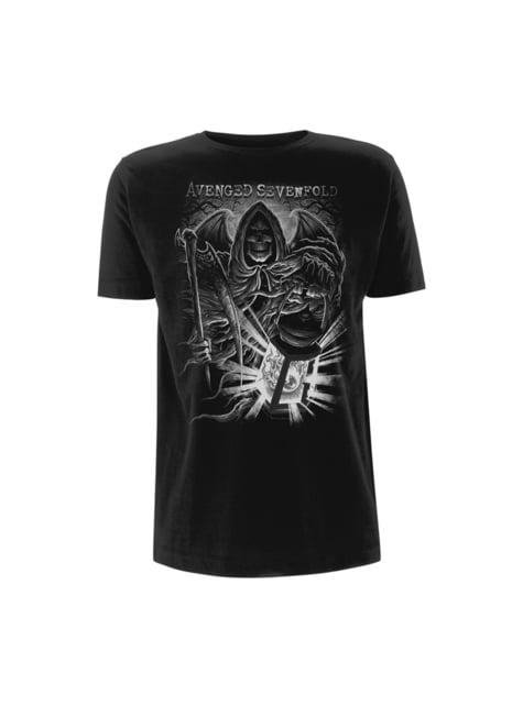 T-shirt Avenged Sevenfold Reaper Lantern para homem