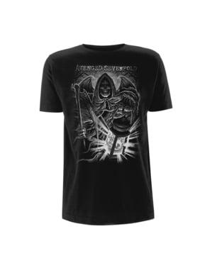 Avenged Sevenfold Reaper לנטרן בחולצת טריקו לגברים