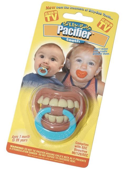 Chupeta com dentes